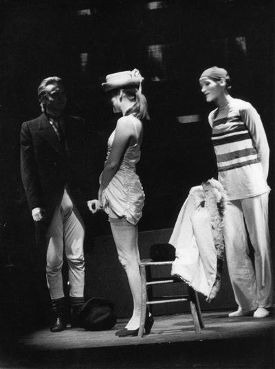 Eugène Ionesco, Učna ura, Akademija za gledališče, radio, film in televizijo, 1981/82