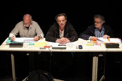 Herman Melville, Bartleby, pisar, Mini teater Ljubljana, 2010/2011. Fotografija 1