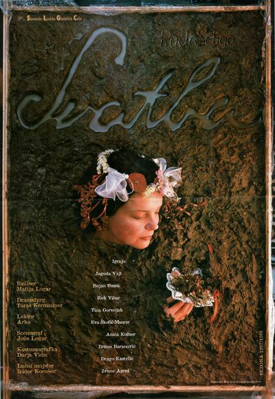 Svatba, SLG Celje, 1998. Plakat