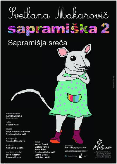Svetlana Makarovič, Sapramiška 2, Mini teater Ljubljana, 2010/11. Gledališki list 2