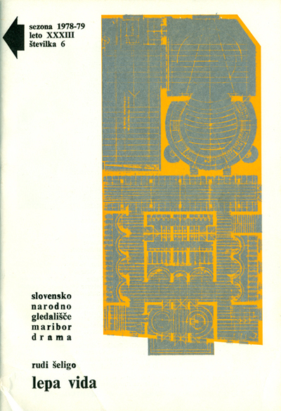Gledališki list Drame SNG Maribor, sezona 1978/79, št. 6