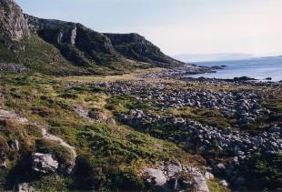 Store Rået på Løvsøy - Hellarfunn og strandgravfelt på Færvollane