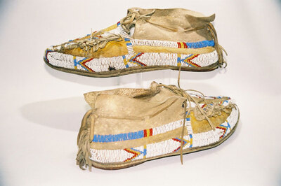 Cheyenne Indian moccasins.