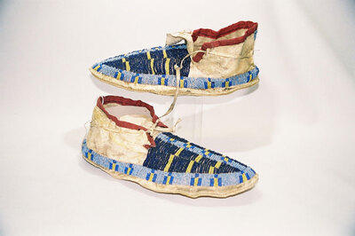 Sioux Indian moccasins.
