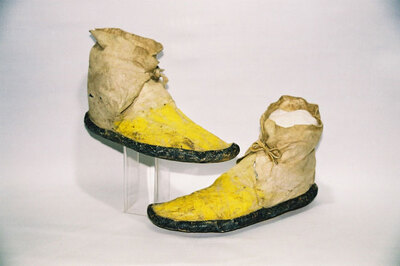 Zuni Indian Tribe-men's ankle boots.