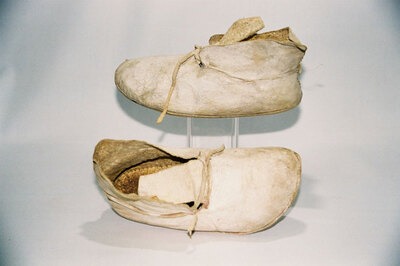 Pueblo Indian Tribe-child's ankle boots.