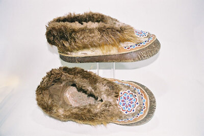 Yuit Tribe-ladies moccasins.