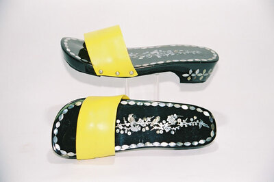 Ladies slippers.
