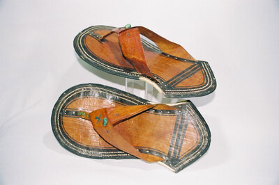 Fezane Touareg Tribe - man's sandals.