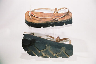 Men's sandal 'Ojota'.