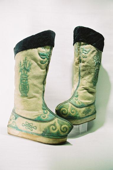 Ladies boots.