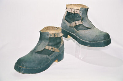World War II cold weather soldiers' boots.