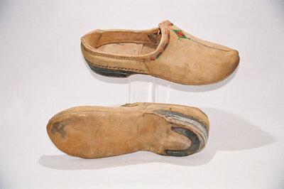 Turkmen Tribe' men's shoes.