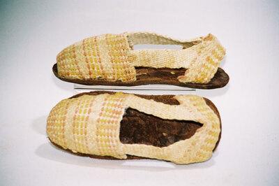 Child's sandals 'alpargatas'.