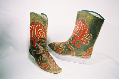 Tatar tribe - Men?s boot stocking.