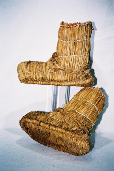 Ladies snow boots - 'Fukagutsu'.