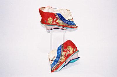 Ladies bound feet 'Jin Lian'.
