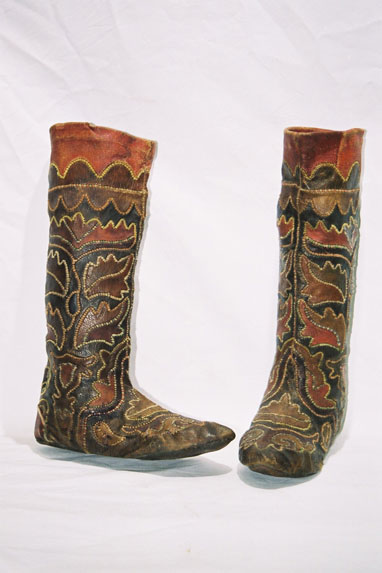 Tatar tribe - Men's boot stocking 'Magshi' to be worn in overshoes.