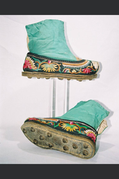 Miao minority - ladies ankle boots.