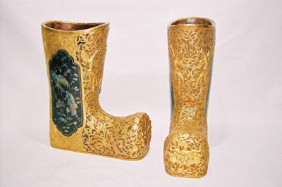 Ladies funeral boots.