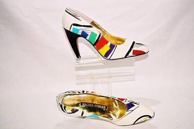 Ladies pumps by designer Walter Steiger.