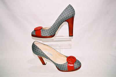 Ladies high heel pumps by designer Joseph Azagury.