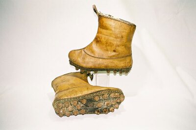 Mud boots.