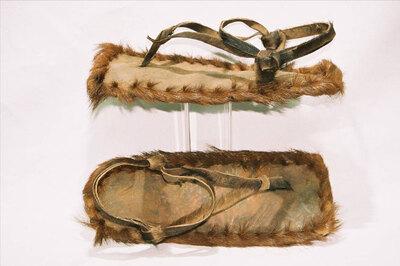 Hadzabe Tribe. Men's sandals.