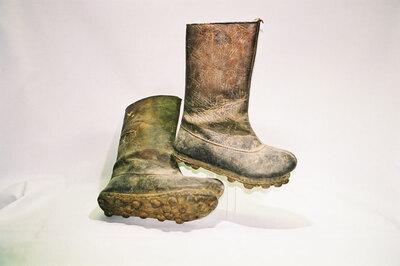Men's bad weather boots.