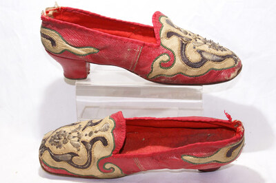 Tatar tribe ladies' pumps.