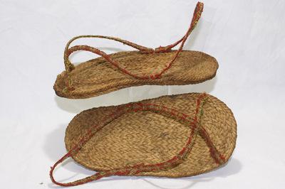 Pre-colombian woman's sandals.
