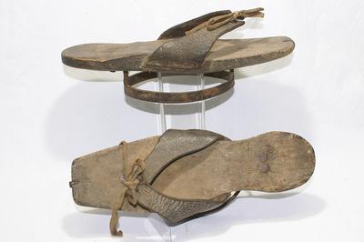 Ladies mudshoes.
