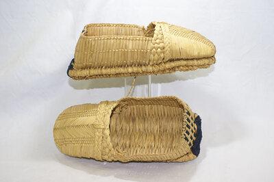 Peasant Shoes 'Wara Asagutsu'.