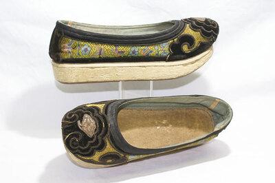 Men's platform shoes.