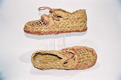 World War II - summer shoes.