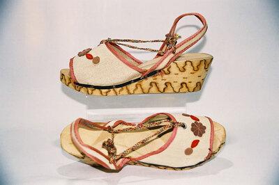 World War II Ladies sandals.