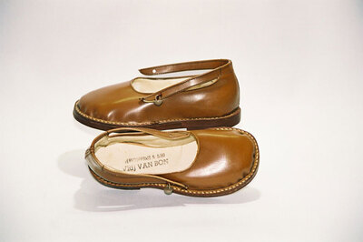 Child's shoes; World War II licence exempted.