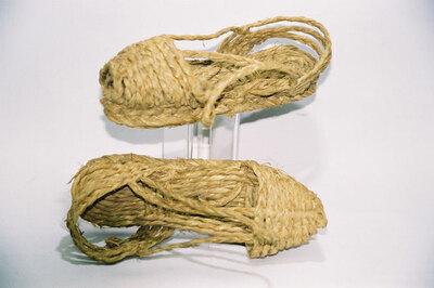 Child's sandals; 'Alpargata's Murciana'.