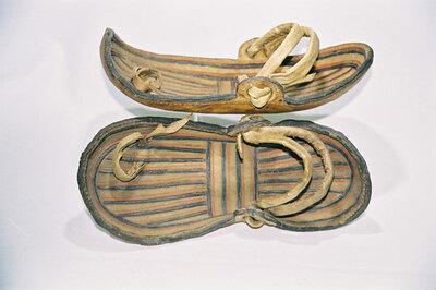 Men's sandals-Acholi Tribe.