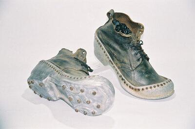Farmer's barn shoes.