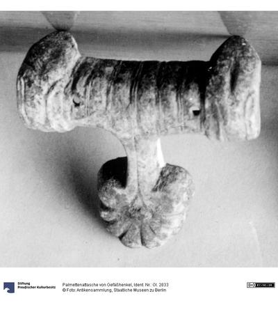 Palmettenattasche von Gefäßhenkel