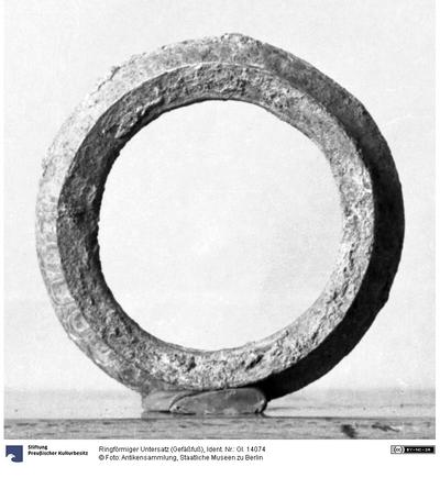 Ringförmiger Untersatz (Gefäßfuß)