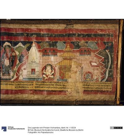 Die Legende vom Prinzen Vishvantara