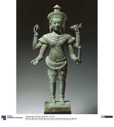 Vierarmiger Vishnu