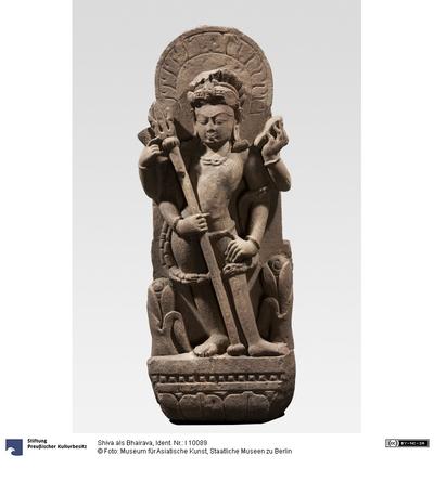 Shiva als Bhairava