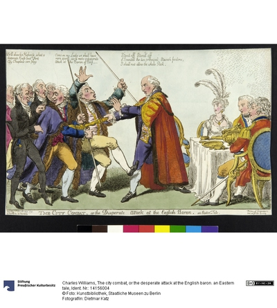 The city combat, or the desperate attack at the English baron. an Eastern tale