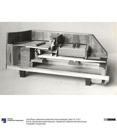 Mechanikmodell eines Hammerflügels