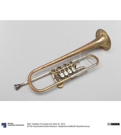 Viertelton-Trompete in B