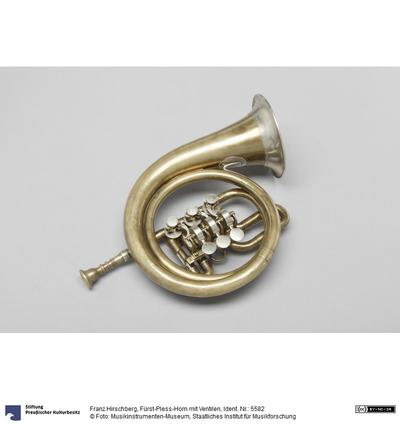 Fürst-Pless-Horn mit Ventilen