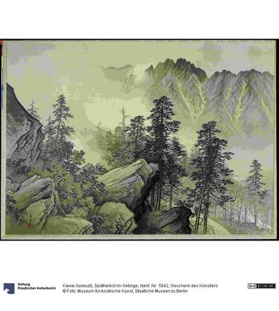 Spätherbst im Gebirge